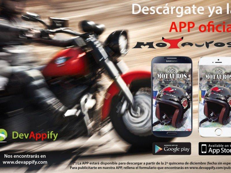Disponible para descarga la App de Motauros!