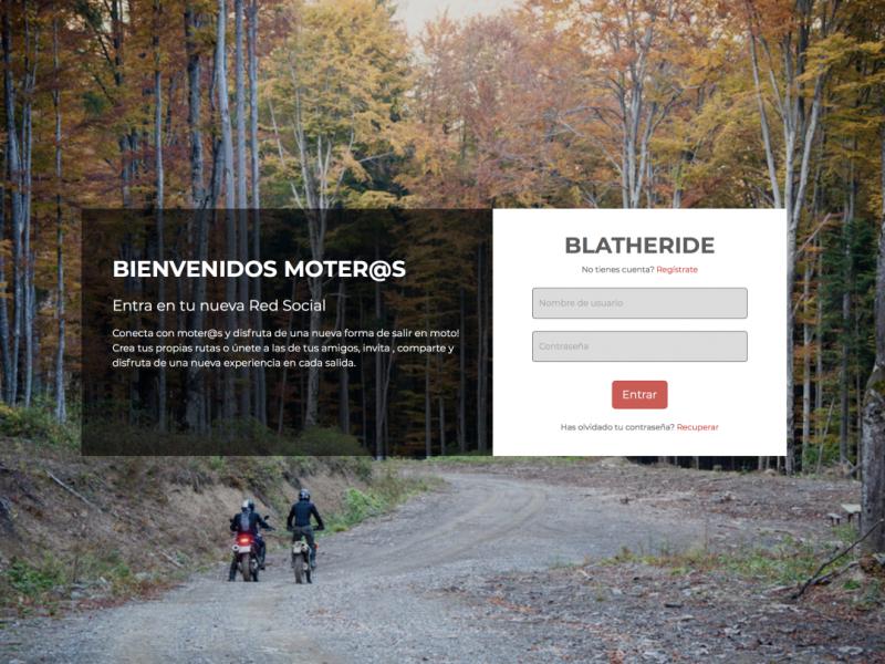 BLATHERIDE estará presente en Motauros 2018