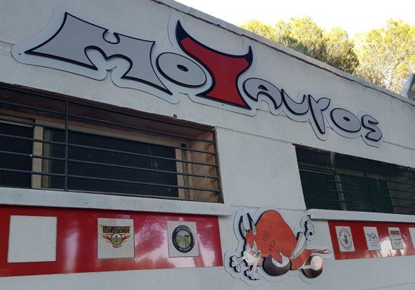 Preparando mural para el XX Aniversario
